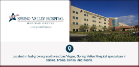 Spring Valley Hospital Medical Center | Infographic