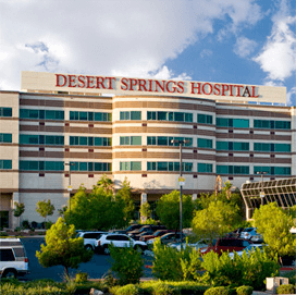 Exterior of Desert Springs