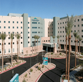 Exterior of Summerlin Hospital Medical Center