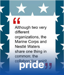 How a Military Career Can Prepare You for Success at Nestlé Waters