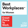 Great Places to Work - Best Workplaces for Women 2019