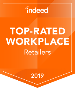Indeed - Top-Rated Workplace Retailers 2019