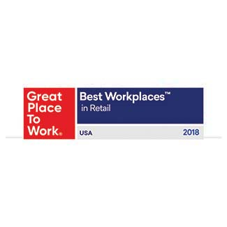 Great Places to Work - Best Workplaces in Retail 2018