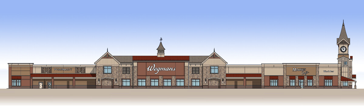 Lancaster Store Architectural Drawing