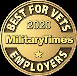 Military Times 2020: Best Employer for Veterans