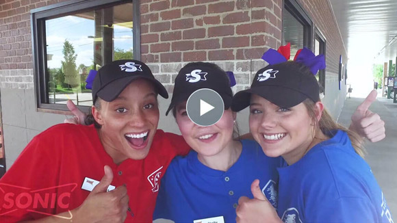 Sonic Drive-In Life Core Values video