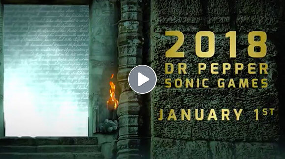 2018 Dr. Pepper Sonic Games