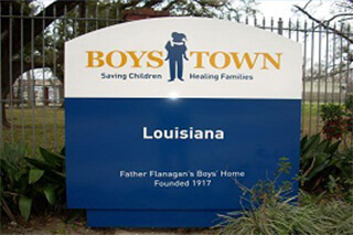 Boystown sign