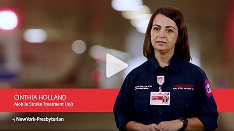 Meet Cinthia – Mobile Stroke Treatment Unit (Video)