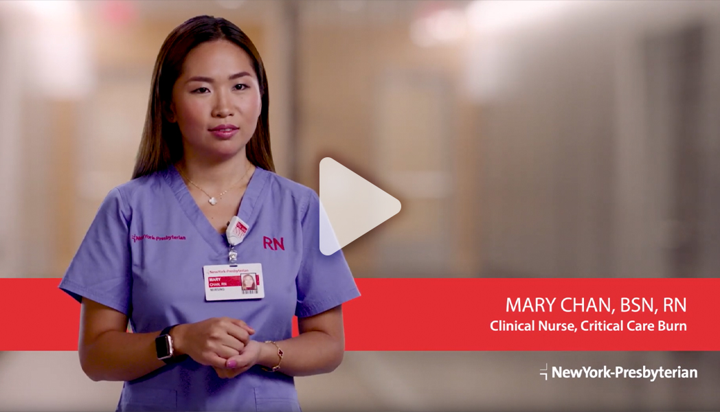 Meet Mary - Clinical Nurse, Critical Care Burn