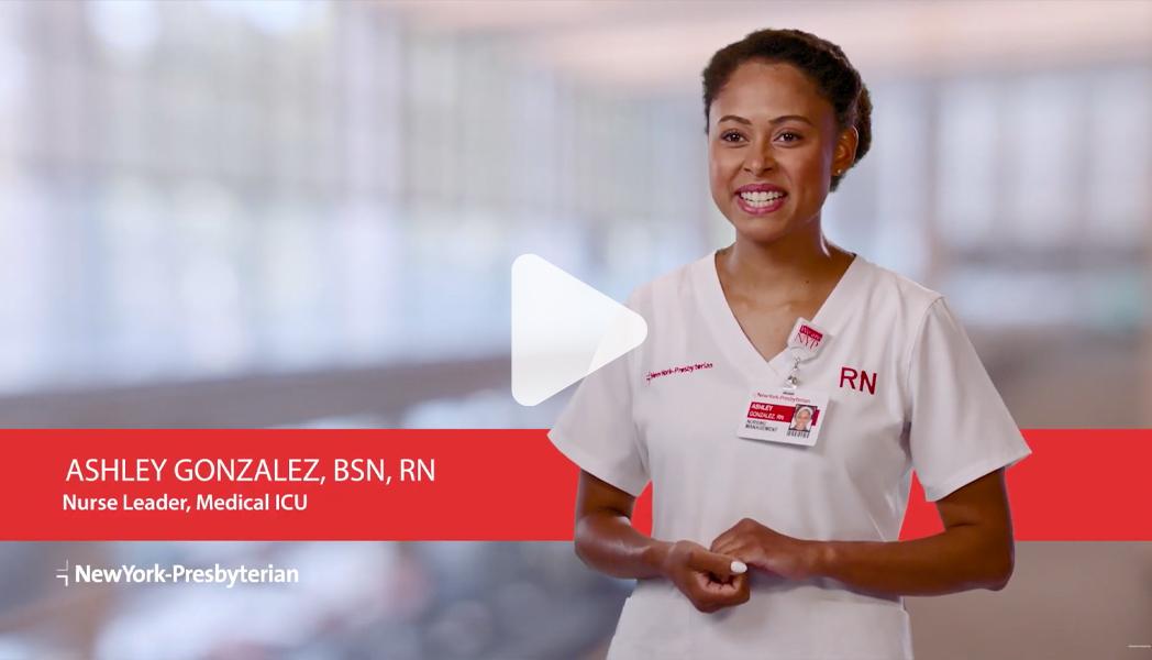 Meet Ashley – Nurse Leader – Medical ICU