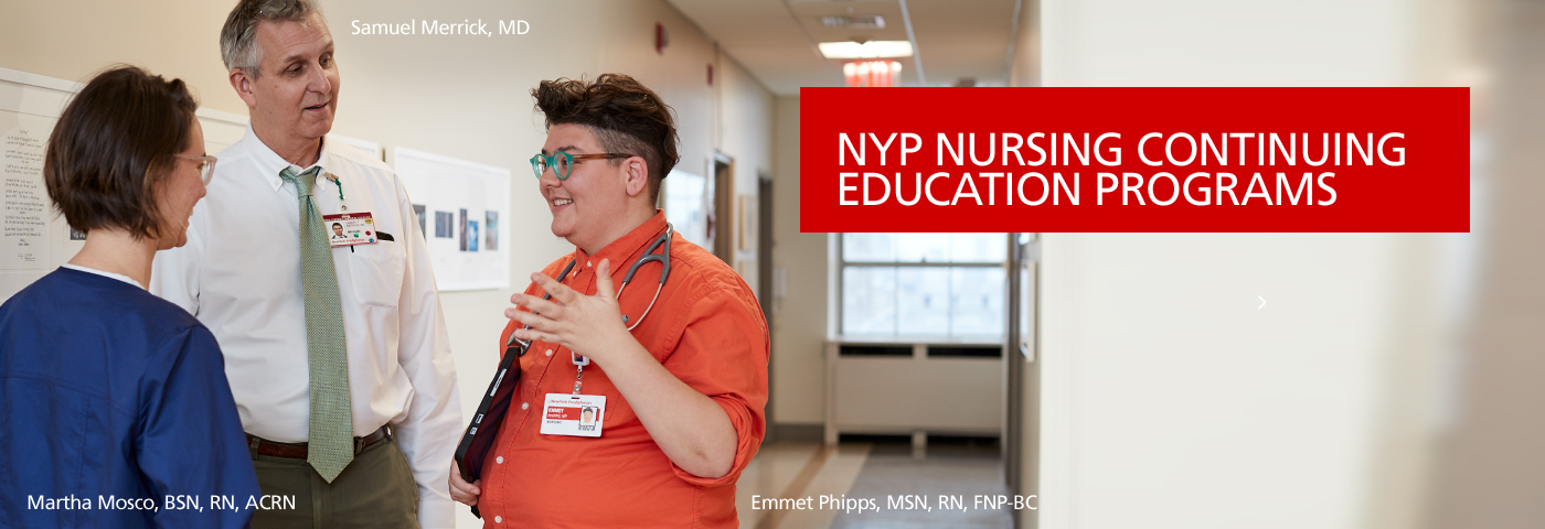 NYP Nursing Programs