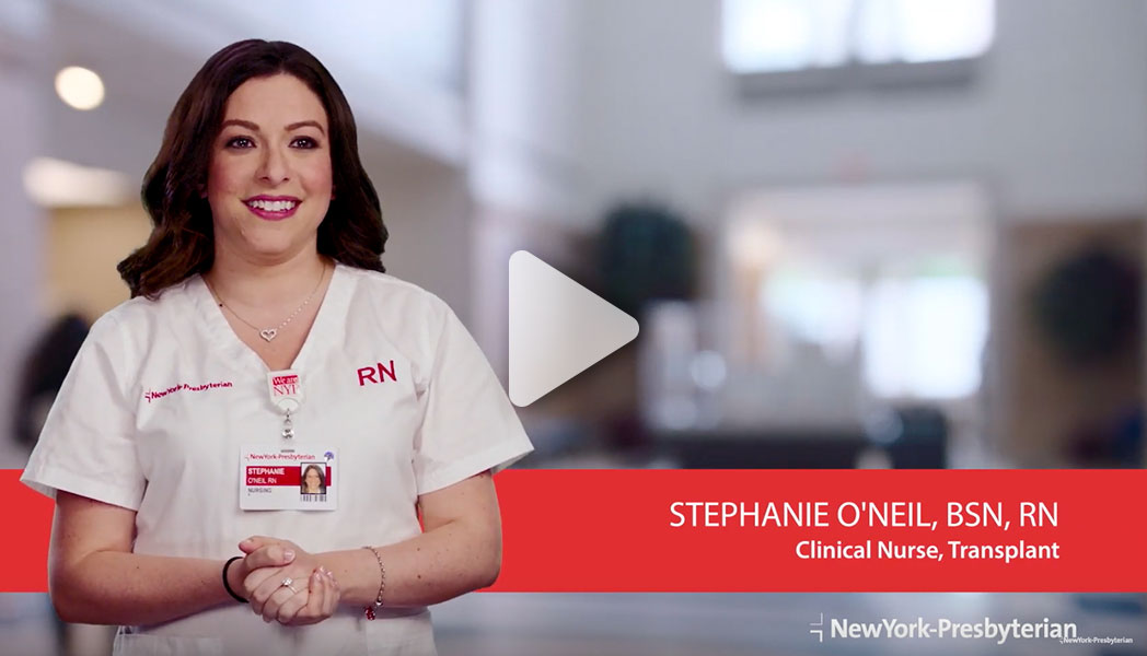 Meet Stephanie - Clinical Nurse, Transplant (Video)