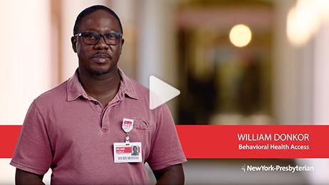 Meet William – Behavioral Health Access (Video)