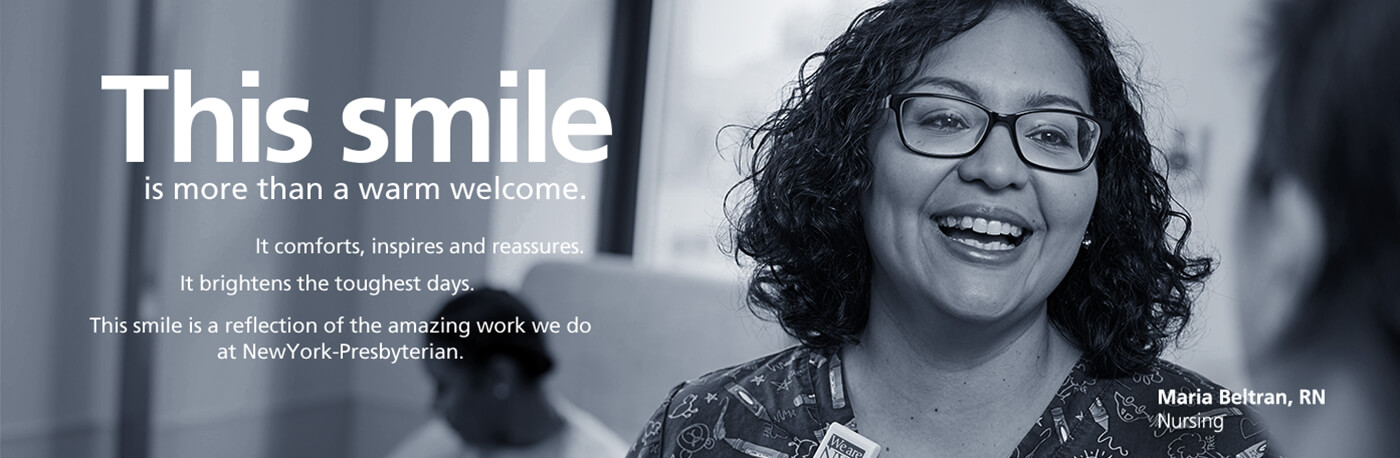 This smile is more than a warm welcome... Maria Beltran, RN, Nursing