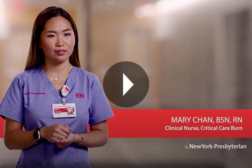 Meet Mary - Clinical Nurse, Critical Care Burn