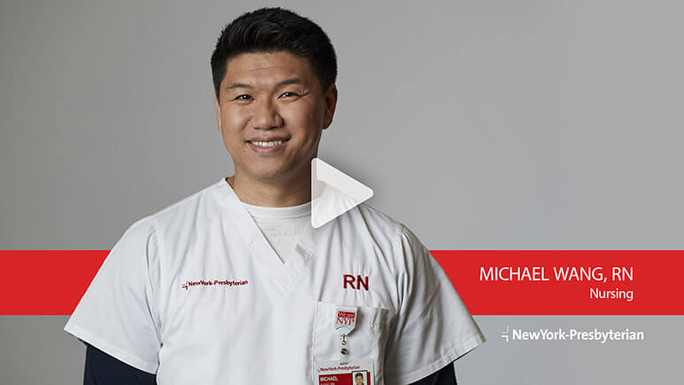Michael Wong, RN, Nursing (Video)