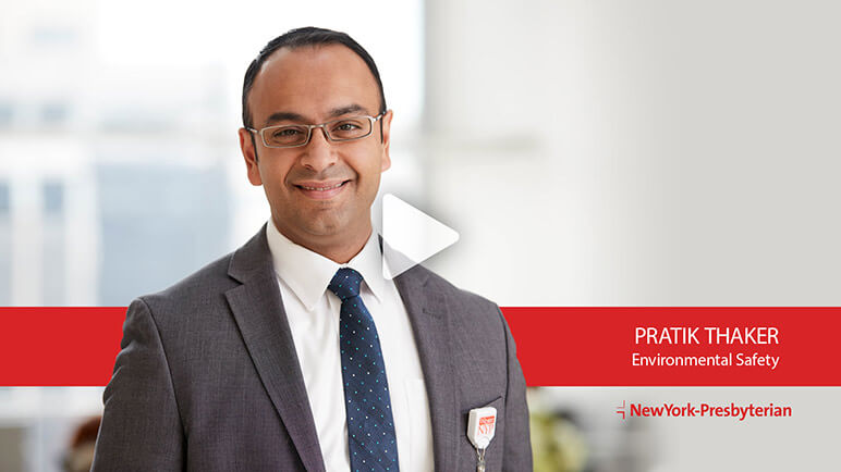 Pratik Thaker, Environmental Safety (Video)