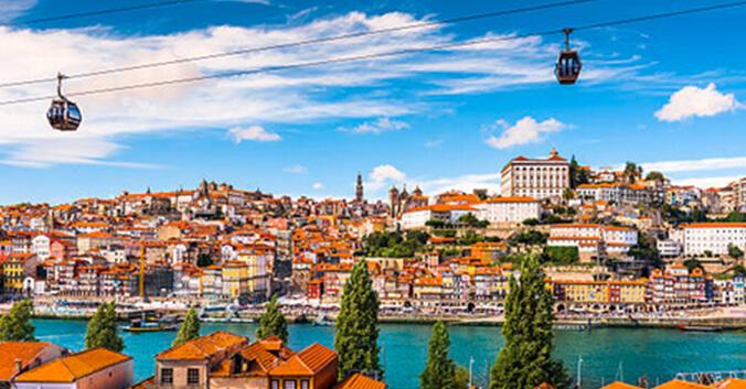 Vue de Porto