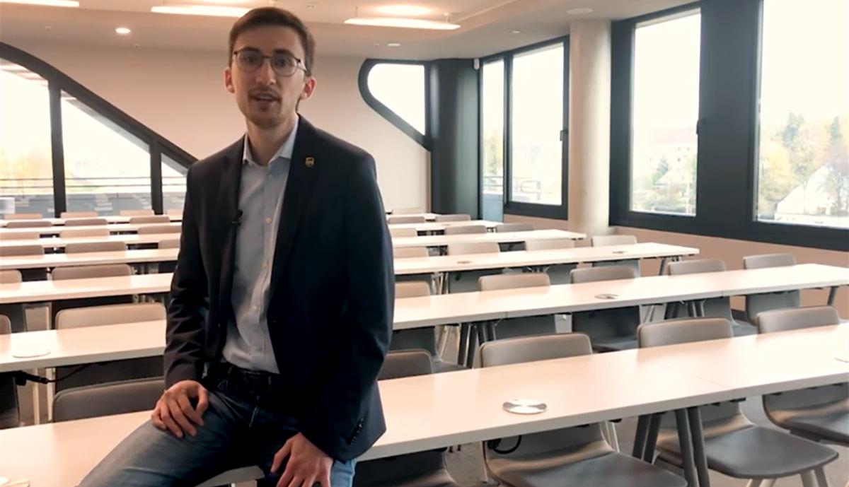 Play Video: Sales Trainee bei UPS - Marcel