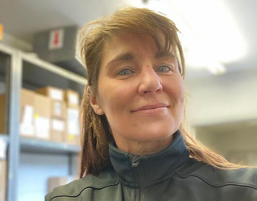Ulrike Peter - smiling