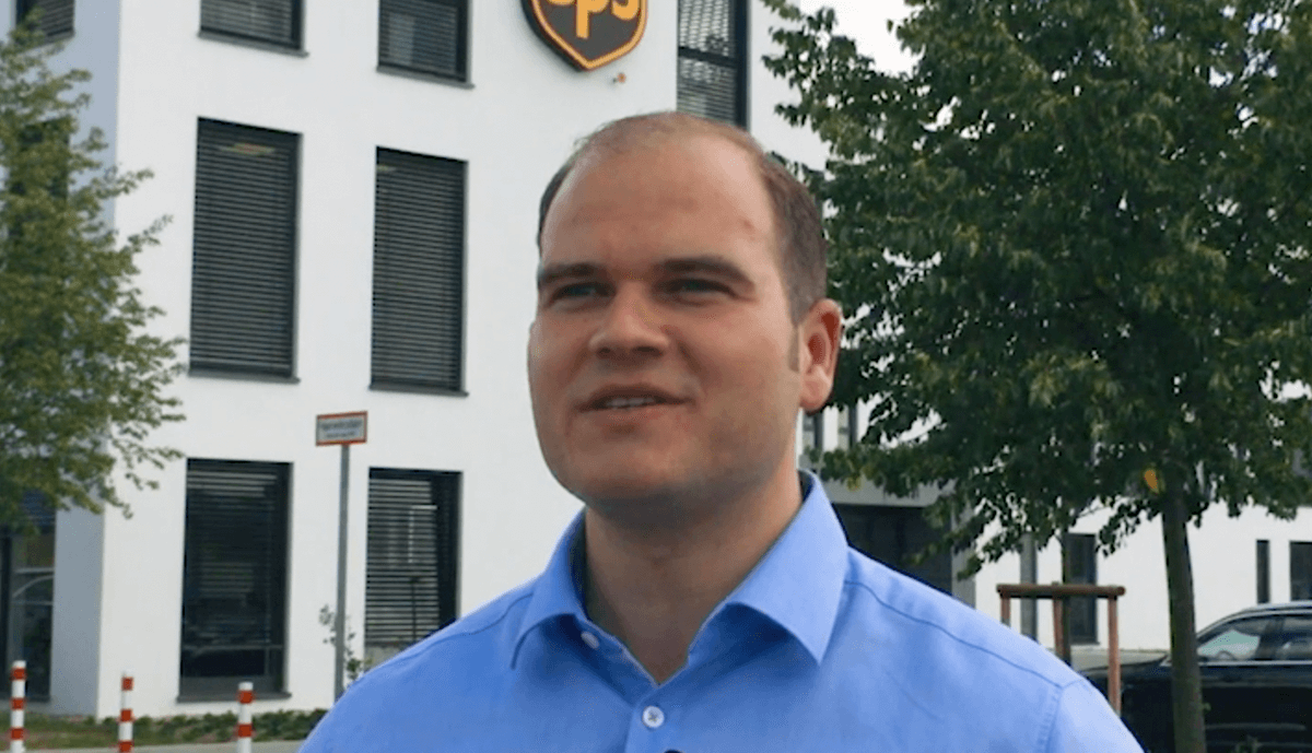 Play Video: UPS Sales in Deutschland