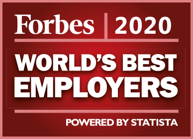 Forbes 2020 Award - World's Best Employers