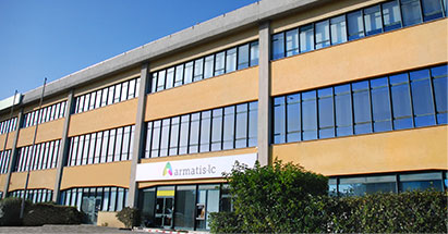 Fasada biura w Lizbonie