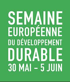 logo pour Semaine Européenne du Développment Durable 30 Mai - 5 Juin