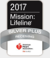 American Heart Association - Sliver Plus - Mission Lifetime logo