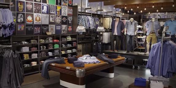 DXL Store interior