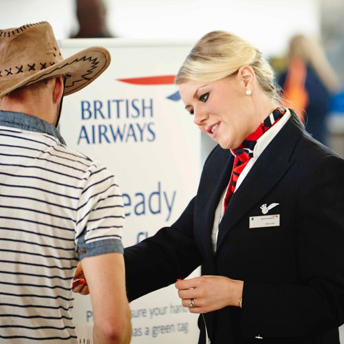 british airways customer service training