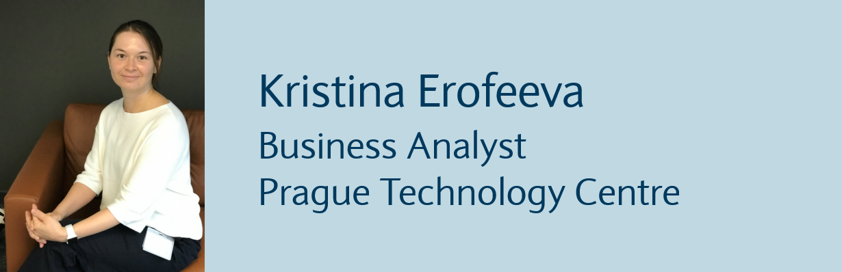 Kristina Erofeeva, Business Analyst, Prague