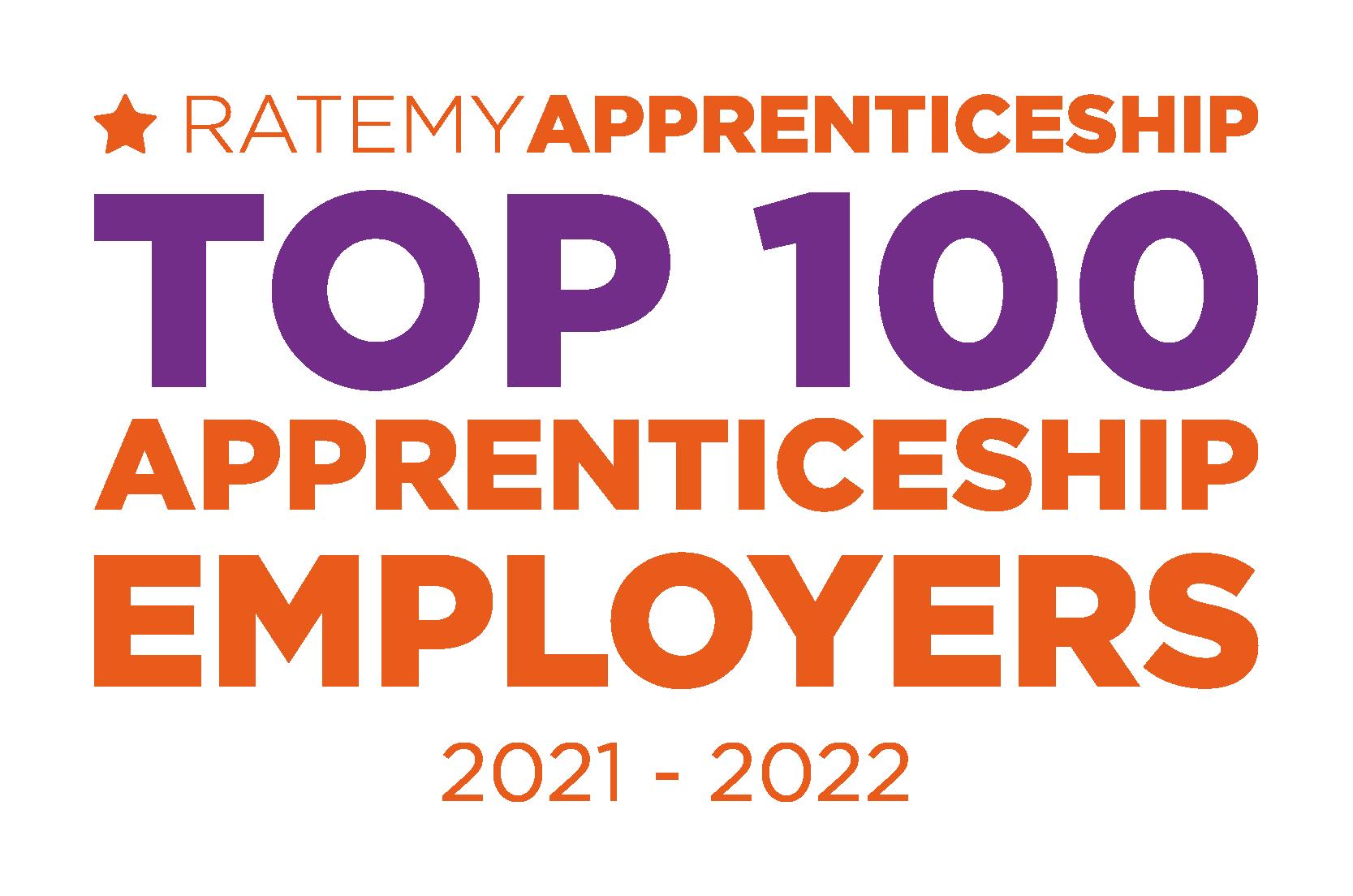 Top 100 EMployers logo