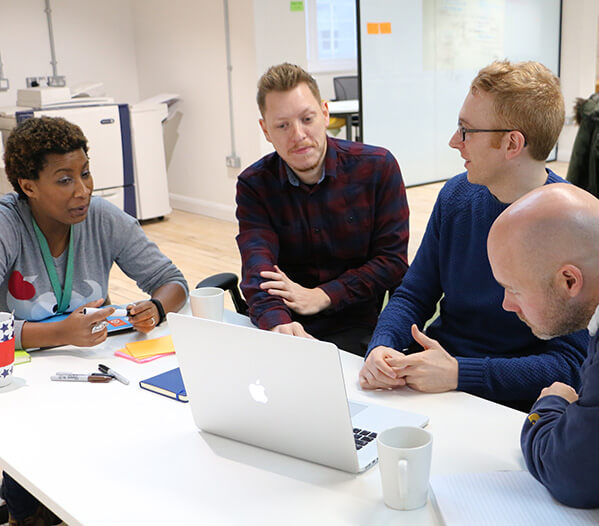 Team of Data Engineers working at Co-op
