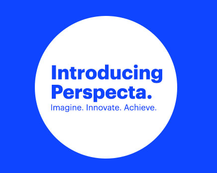Introducing Perspecta. Imagine. Innovate. Achieve.