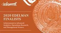 2020 Edelman Finalist