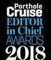 2018 Porthole Cruise Magazine Editor in Chief Awards Logo