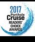 2017 Porthole Cruise Readers' Choice Awards Logo