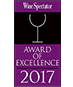 2017 Wine Spectator Award of Excellence Logo