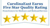 CarolinaEast Earns Five Star Quality Rating