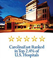 Ranked in top 2.4% of hospitals