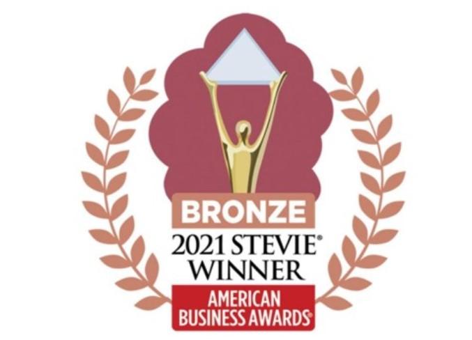 Bronze - 2021 Stevie Winner - American Business Awards