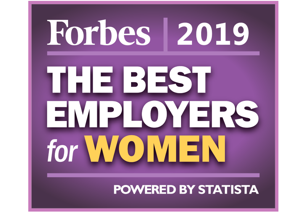 Forbes The Best Employers for Women 2019