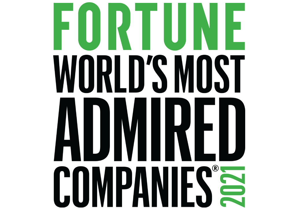 Fortune World's Most Admired Company 2021