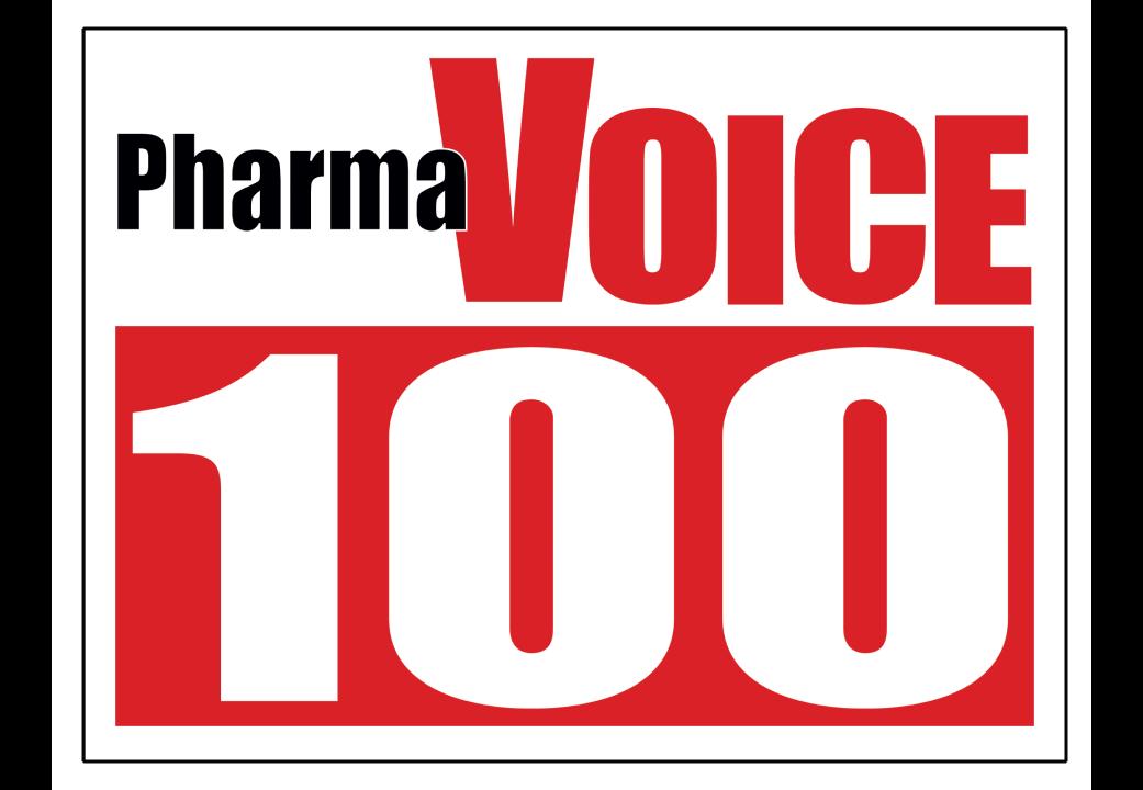 Pharma Voice 100