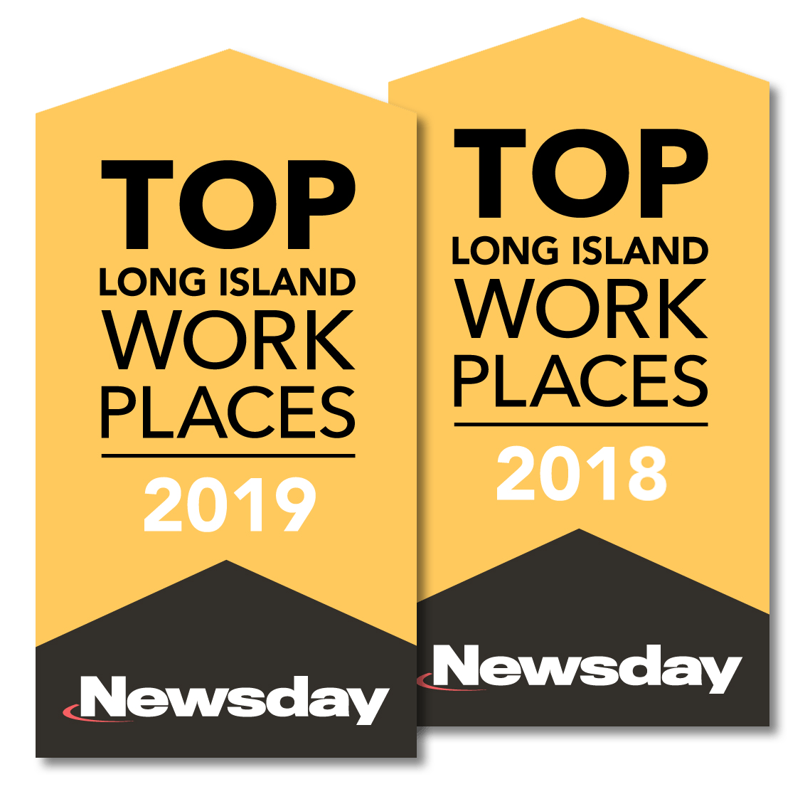 Top Workplace Logo 2018 and 2019