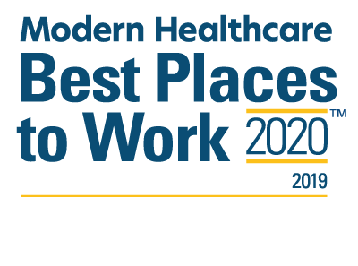 Modern Healthcare - Best Places to Work 2019 Logo