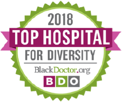 2018 Top Hospital For Diversity BlackDoctor.org BDO