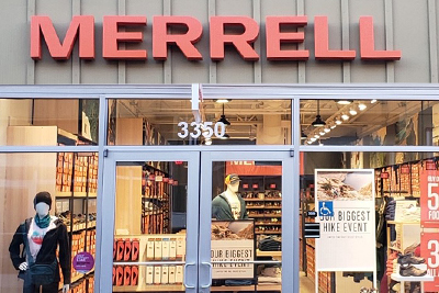 Merrell store front